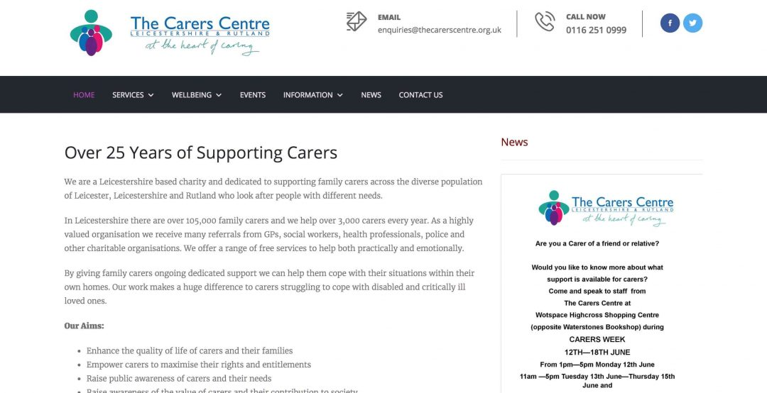 Website Development – The Careers Centre